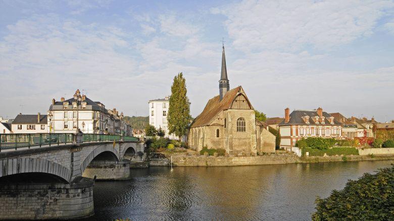 Vue sur l'église Saint-Maurice, à Sens, dans l'Yonne / © B. Bönsch / MaxPPP