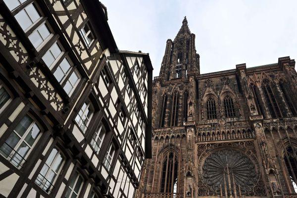 Si elle reste incontournable du haut de ses 142 mètres, la cathédrale de Strasbourg ne sera pas au cœur de la stratégie de communication de l'Office de tourisme.