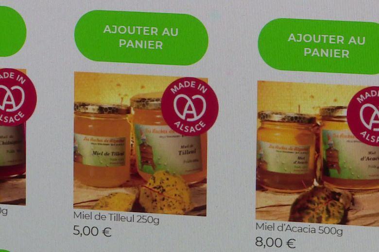 La boutique en ligne propose aussi bien du munster, du miel que des bijoux / © Odile Barthélémy
