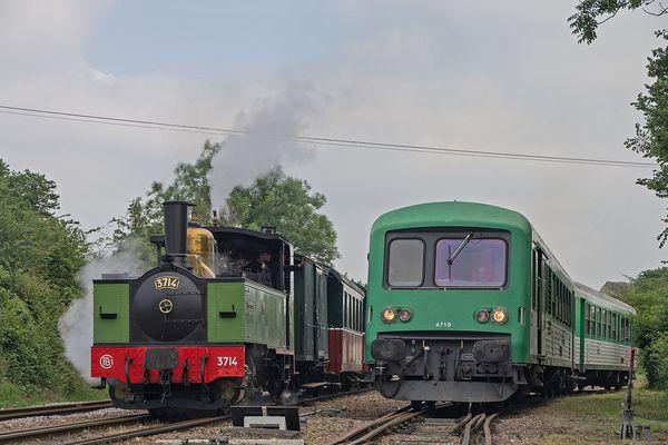 Les trains du voyage, en Baie de Somme.